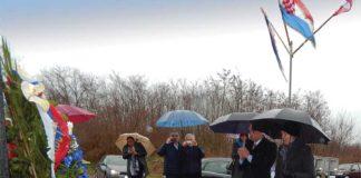 Polaganje venaca u čast poginulima u bolmanskoj bici