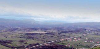 Panorama Ramljana sela u Dalmaciji