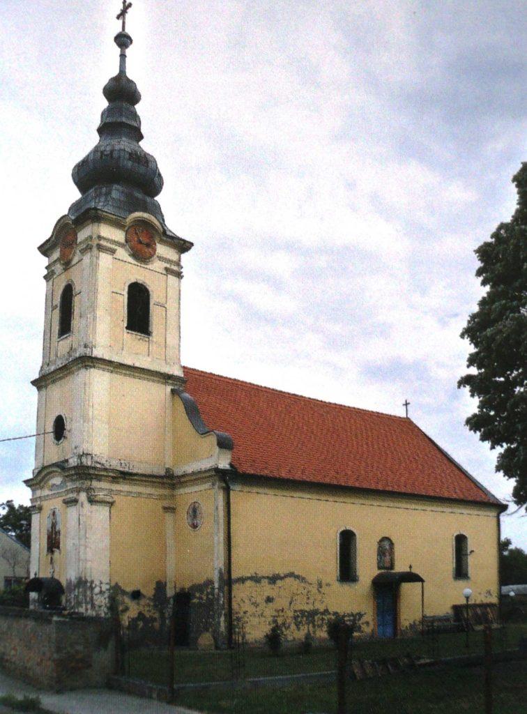 Crkva u Jagodnjaku Hramovi posvećeni svetom Nikolaju Mirlikijskom