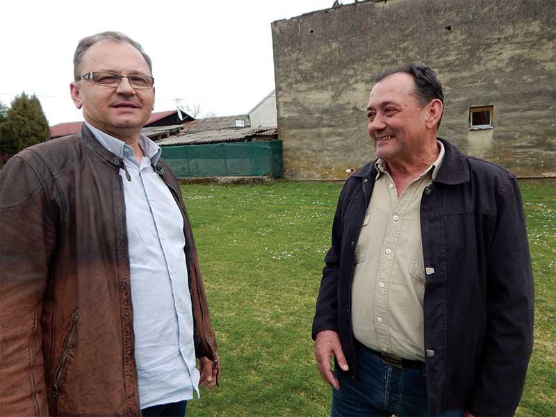 Siniša Martinović i Milenko Ećimović Srbi u Okučanima