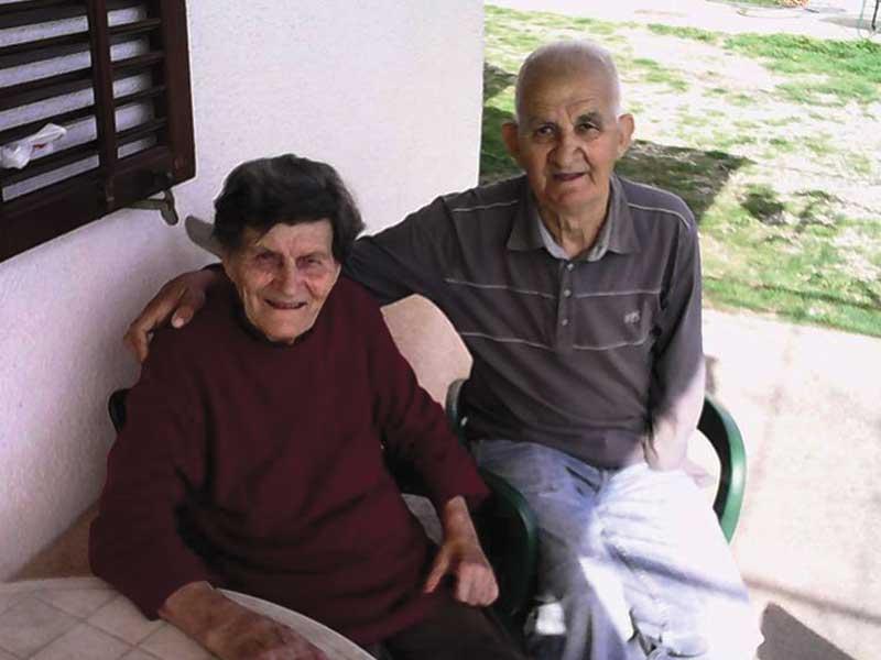 Todor Amanović sa suprugom