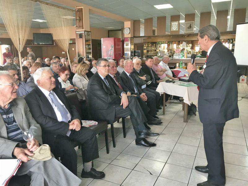 Zdenko Duplančić na akademiji godišnjica proboja Sremskog fronta