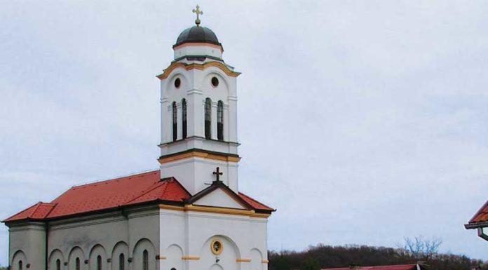 crkva svetog dimitrija u Okučanima