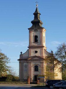 Crkva prenosa moštiju svetog oca Nikolaja u Mirkovcima