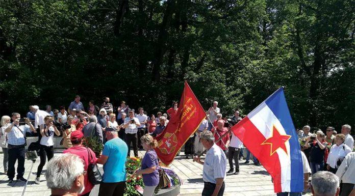 Petrova gora zastave