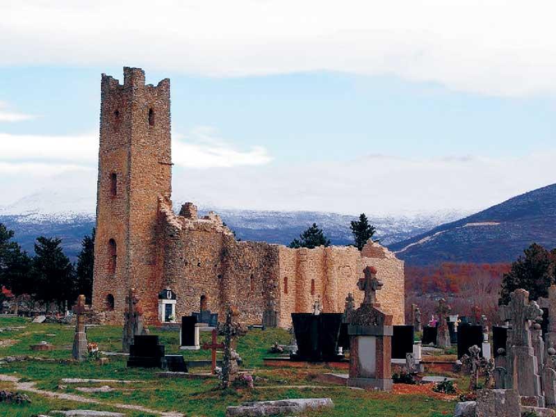 Cetina crkva svetog spasa stara