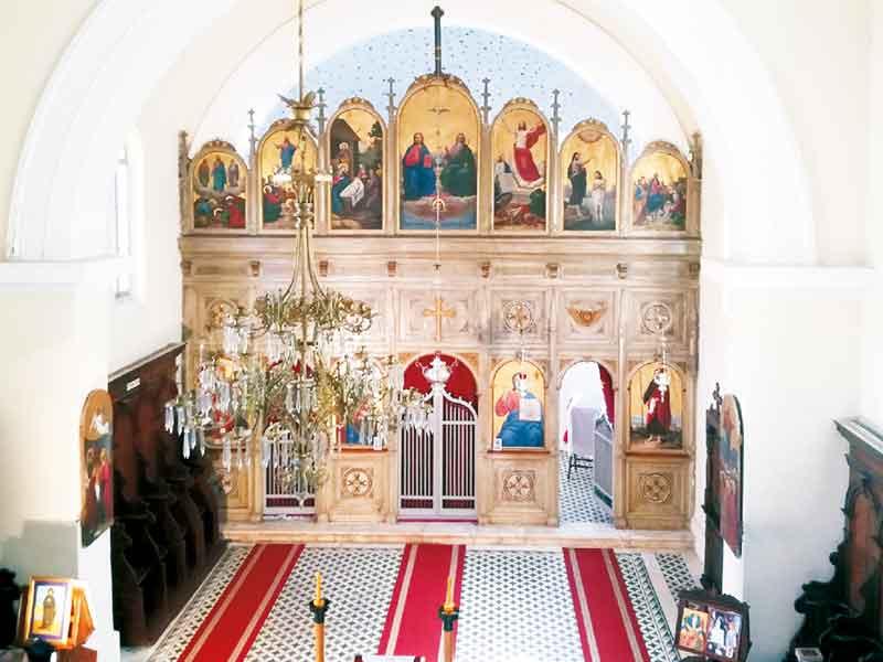 Hram-Sv-Trojice-unutrašnjost Obrovac
