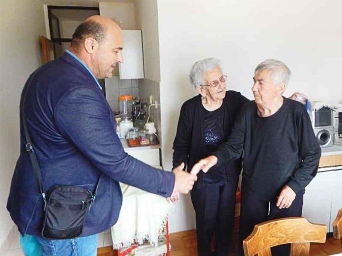 Podela humanitarne pomoći Vukovar