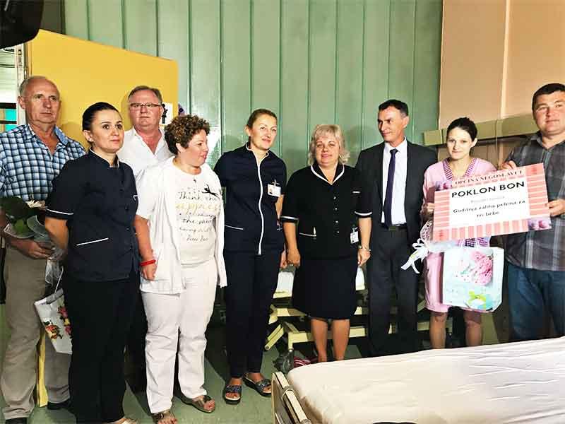 Bebe donacija Negoslavci trojke KBC Osijek Dušan Jeckov
