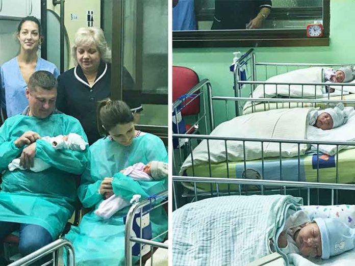 Bebe trojke Negoslavci KBC Osijek