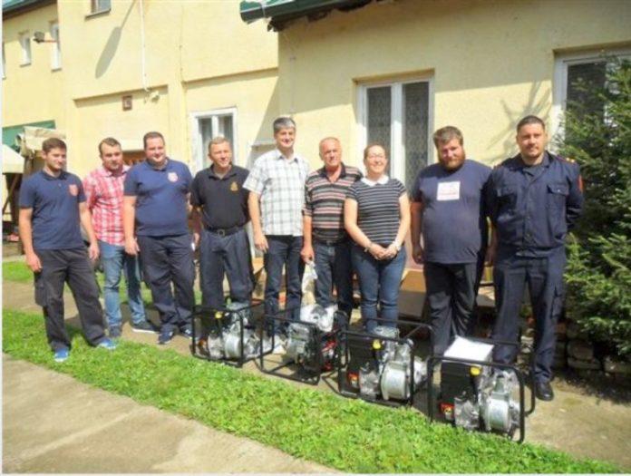 DVD opština Erdut dodela pumpi za vodu