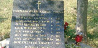 Uzdolje spomenik žrtvama oluje