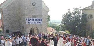 Vrlika-400-godina hrama Svetog Nikole