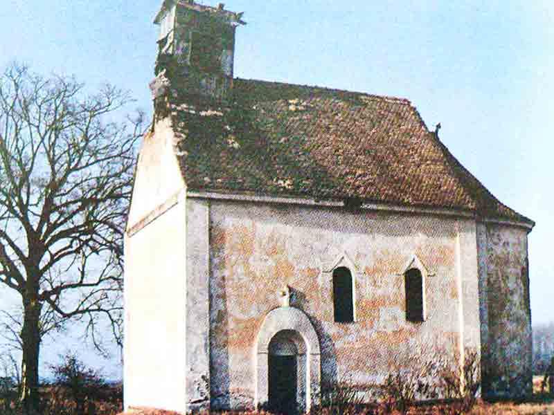 hramovi istočne slavonije koprivna crkva srušena 1991