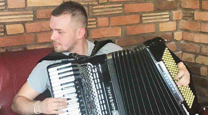 Miloš Đuranović Đuzo prva harmonika Vojvodine