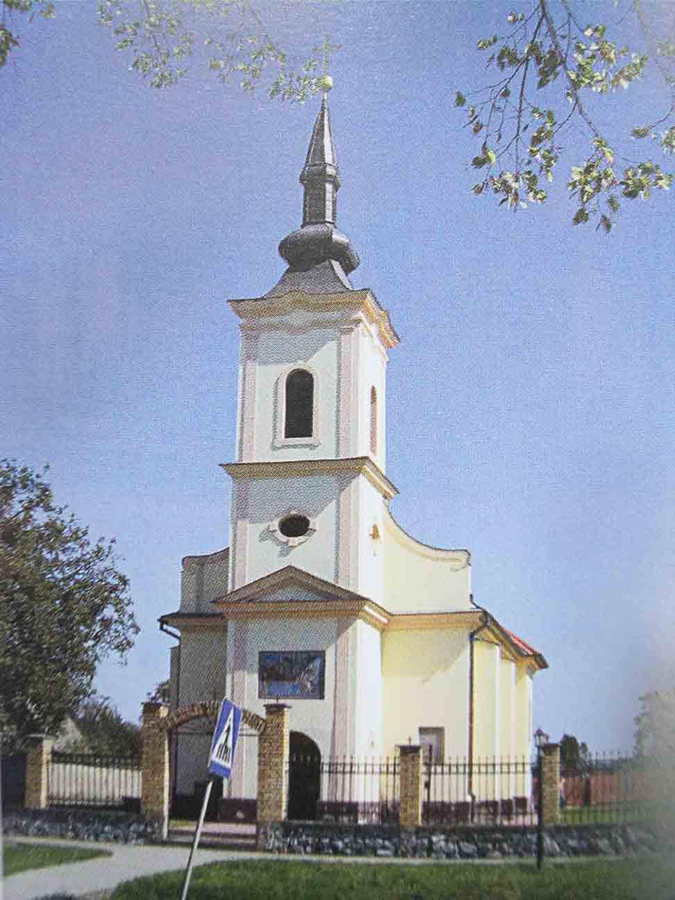 hramovi istočne slavonije Sremske Laze crkva