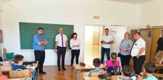 srpski učenici Dalmacija Knin