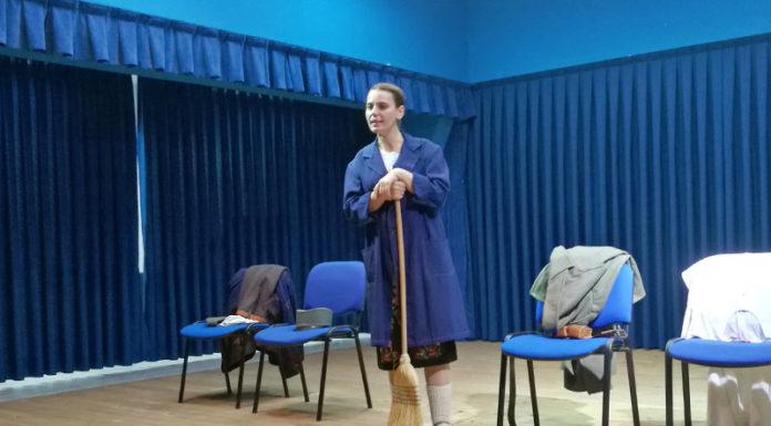 Predstava Milunka u Borovu Milunka Savić