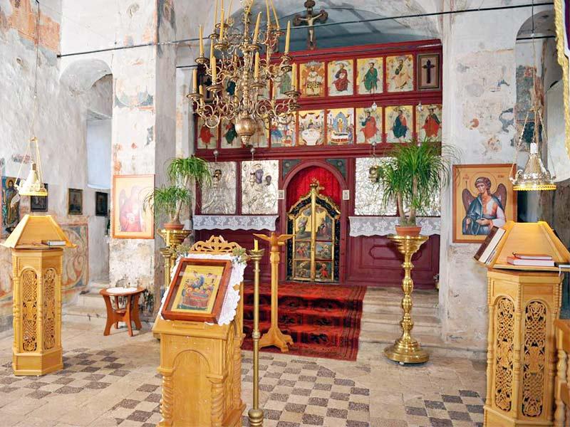 manastir Krupa oltar