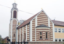 pravoslavni hramovi hram svetog stefana dečanskog borovo naselje