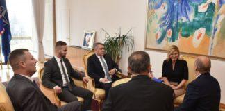 Predstavnici ZVO-a se sastali sa predsednicom Grabar – Kitarović