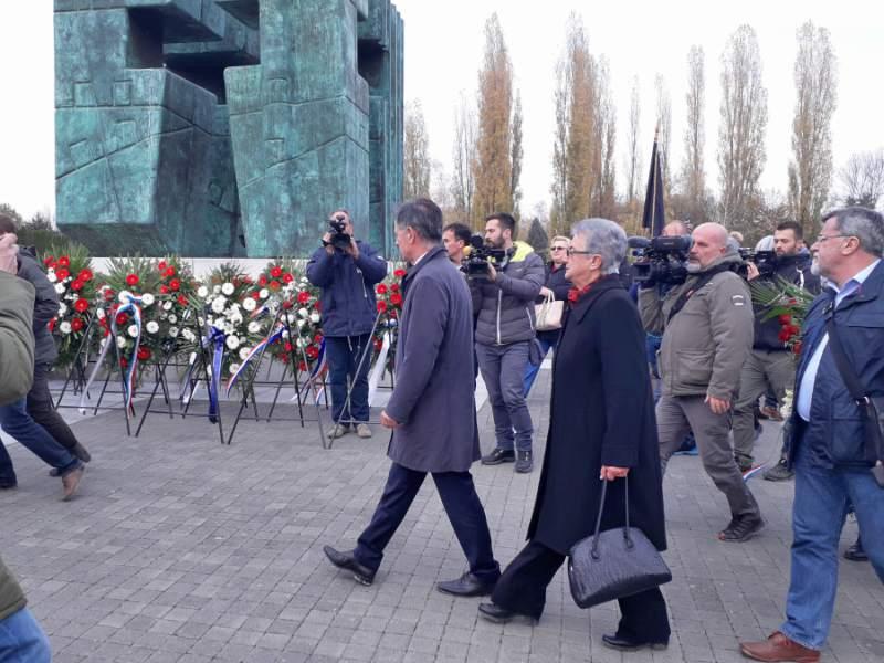 Milorad Pupovac u Vukovaru
