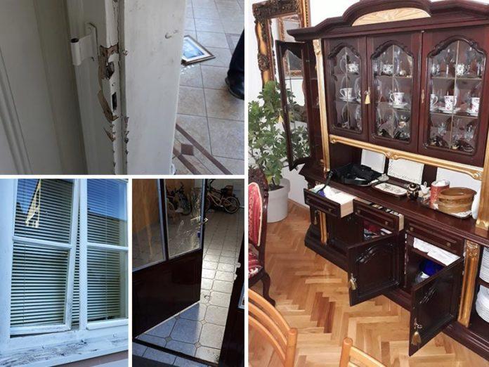 Obijen parohijski dom u Osijeku