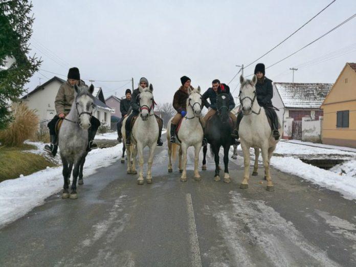 Božić Bijelo Brdo čestitari na konjima