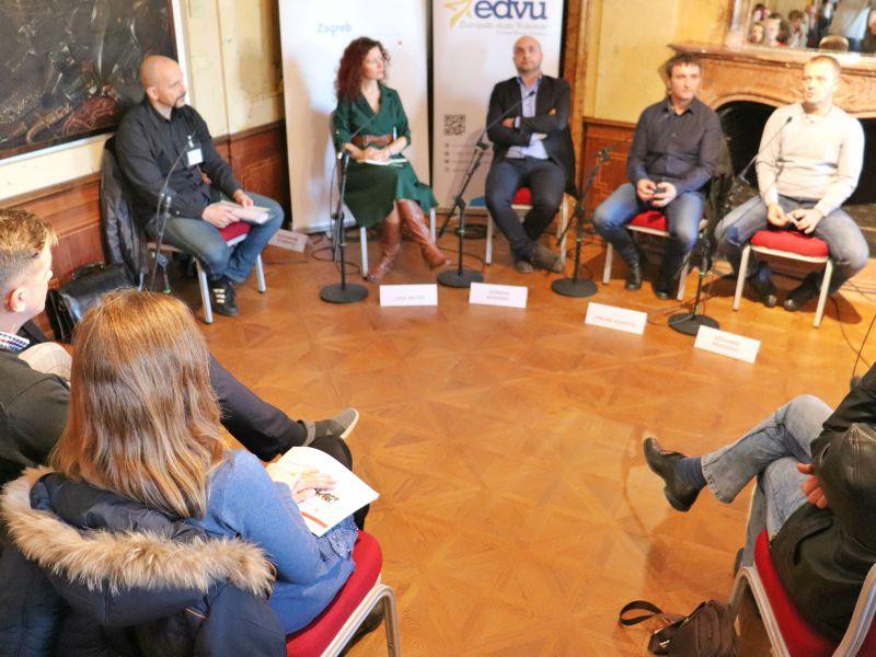 Evropski dom panel diskusija učesnici