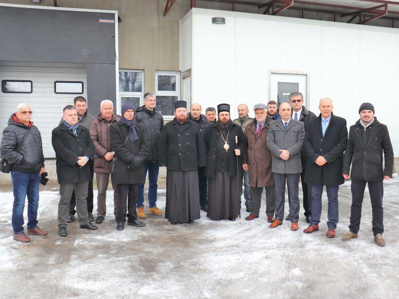 """pomoć za Bogosloviju """"Sveta tri Jerarha"""" pri manastiru Krka"""