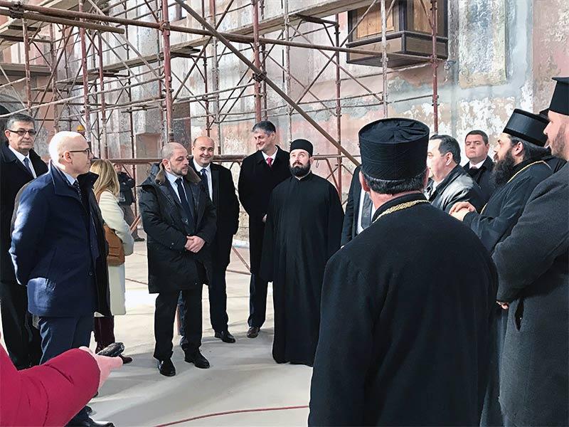 Miloš Vučević gradonačelnik Novi Sad episkop osečkopoljski i baranjski Heruvim