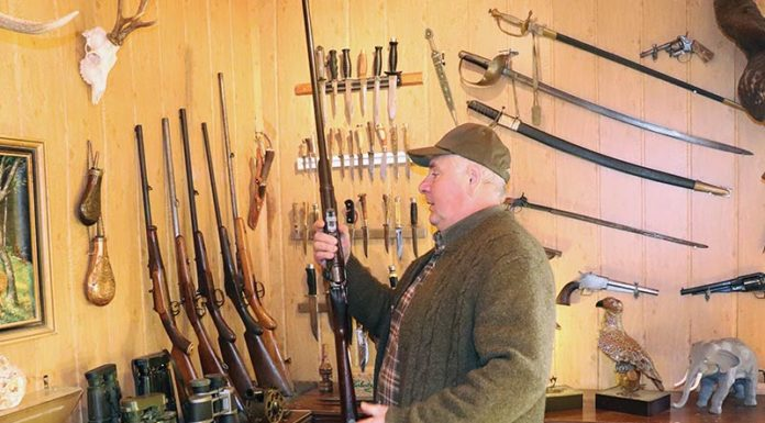 Savo Cabunac kolekcionar oružja