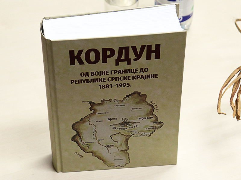 Kordun od Vojne granice do Republike Srpske Krajine 1881-1995 knjiga