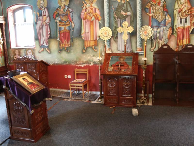 Obijena crkva svete petke u Vukovaru ikona