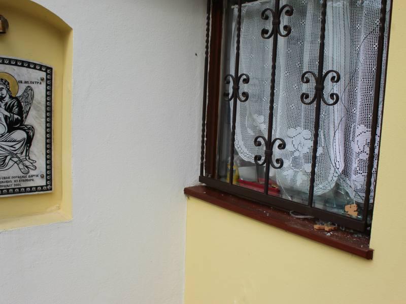 Obijena crkva svete petke u Vukovaru suvenirnica