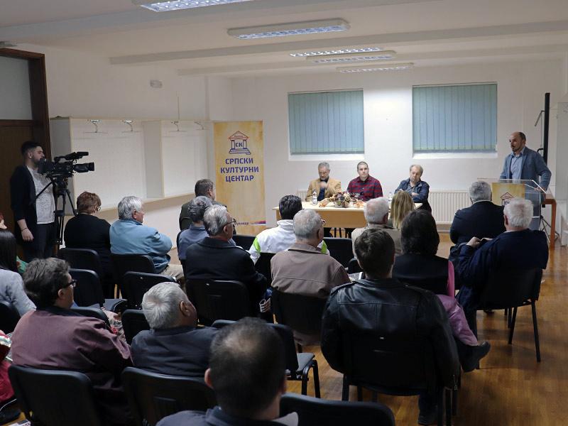 """""""Stanje u hrvatskim medijima"""" Goran Flauder Nikola Milojević Drago Hedl Srđan Sekulić SKC sredom"""
