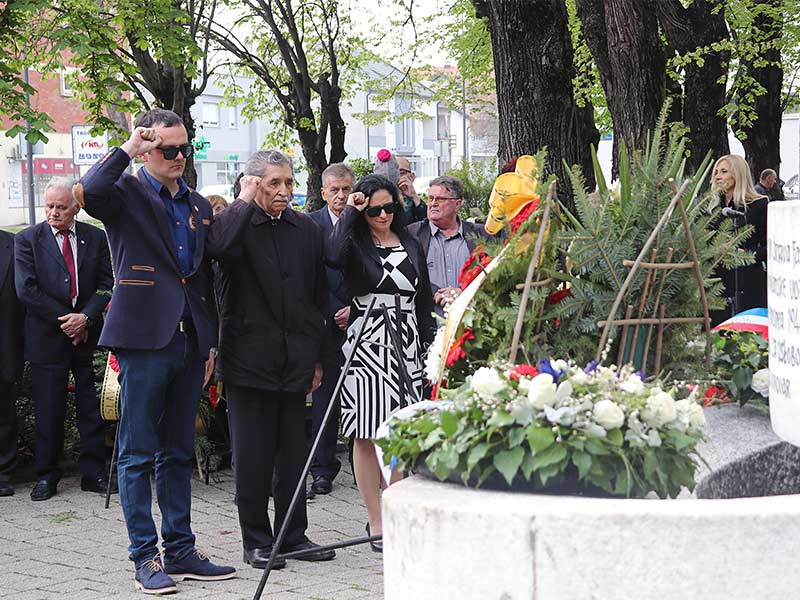 Godišnjica oslobođenja Vukocara SUBNOR