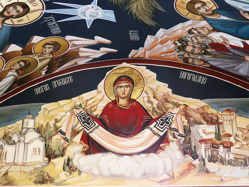 freskopisanje manastir uspenja presvete bogorodice dalj planina