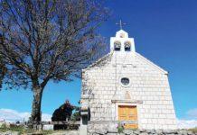 Miočić crkva posvećena rođenju svetog jovana krstitelja