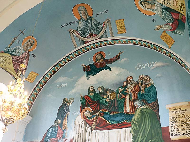 Episkop sremski Vasilije freskopis hram prepodobne mati paraskeve šidski banovci