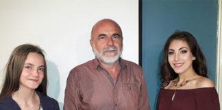 smotra literaraca Nađa Kikanović, Đorđe Nešić i Anđela Savičić