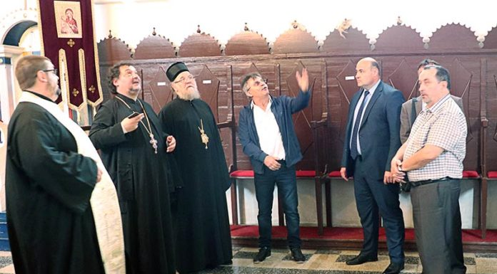 Episkop sremski Vasilije šidski banovci hram prepodobne mati paraskeve