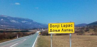 Ćirilične table Donji Lapac