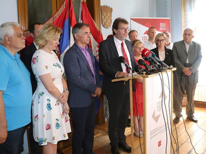 Demokratski savez Hrvata u Vojvodini Žigmanov Pupovac Subotica