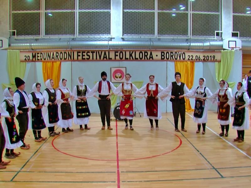Smotra folklora Borovo