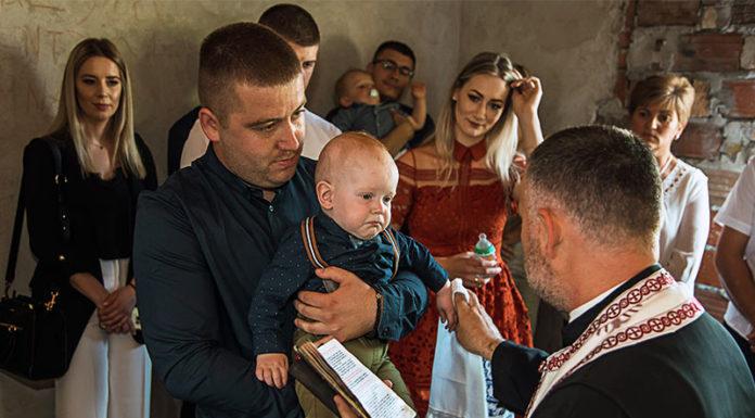 Lipovača krštenje Mihailo Čanji