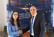 Zamenica američkog ambasadora Viktorija Tejlor predsednik zajedničkog veća opština Srđan Jeremić