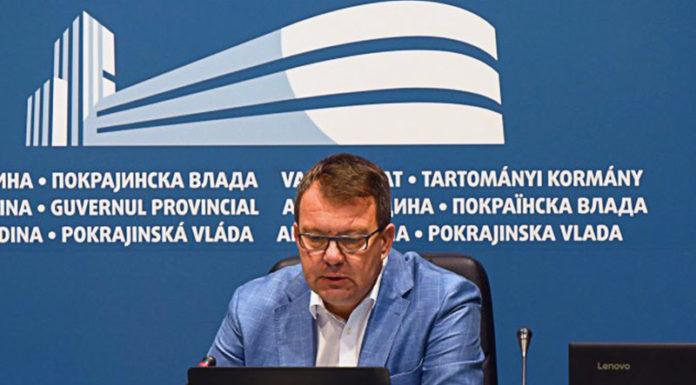 Vlada AP VOjvodine Igor Mirović