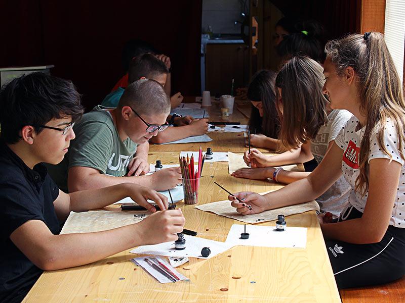letnja škola kaligrafije