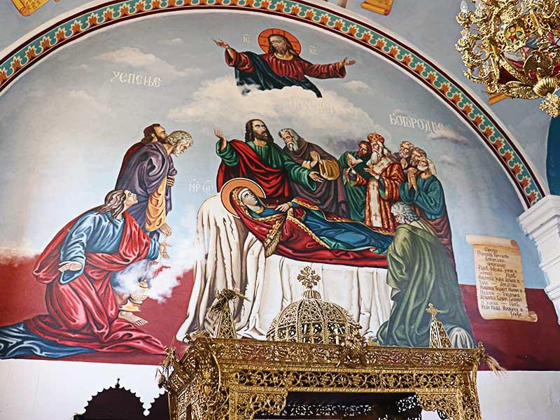 Šidski Banovci Hram Prepodobne Majke Paraskeve Freskopis Mihajlo Đember